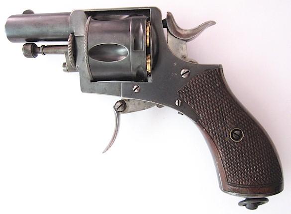 Belgian bulldog revolver in caliber 380 CF