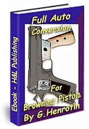 Full automatic conversion for Browning pistols