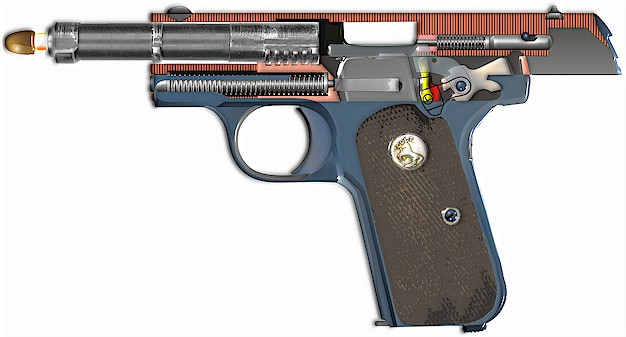 Colt pocket hammerless